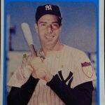 Joe DiMaggio Bowery Bank card