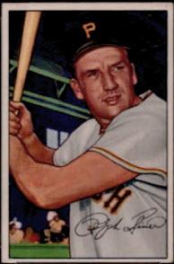 1952 Bowman Ralph Kiner