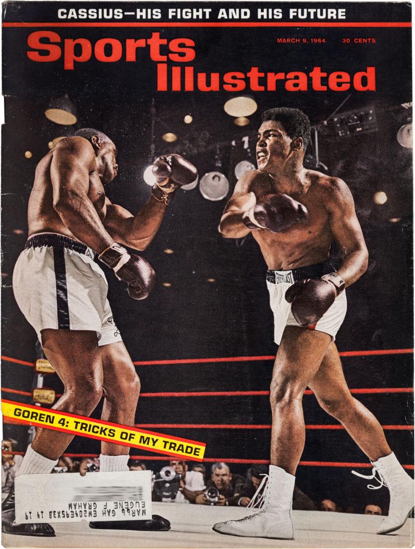 Clay vs Liston Sports Illustrated 1964