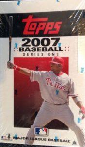 2007 Topps Baseball wax box