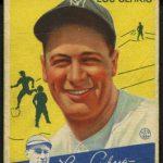Goudey Lou Gehrig 1934