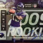 2009 Playoff Contenders autograph Percy Harvin
