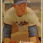 Don Zimmer 1957 Topps rookie