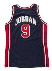 Dream Team jersey Michael Jordan game worn