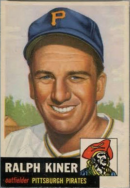 Ralph Kiner 1953 Topps