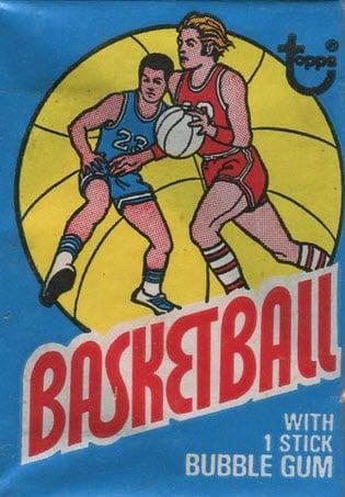 1975-76 Topps Basketball Pack