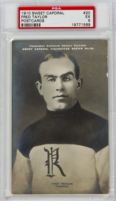 Fred Cyclone Taylor 1910-11 Sweet Caporal