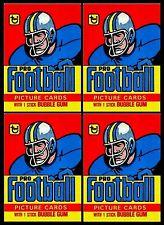1978 Topps Football packs