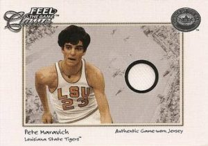 2001 Greats of the Game Feel the Game Classics Maravich