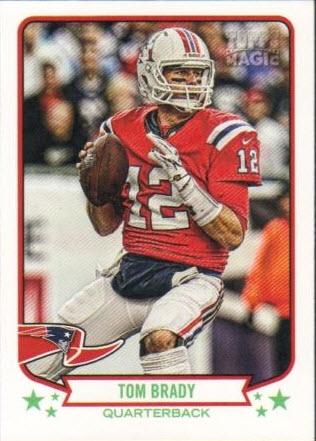 Tom Brady 2013 Topps Magic SP