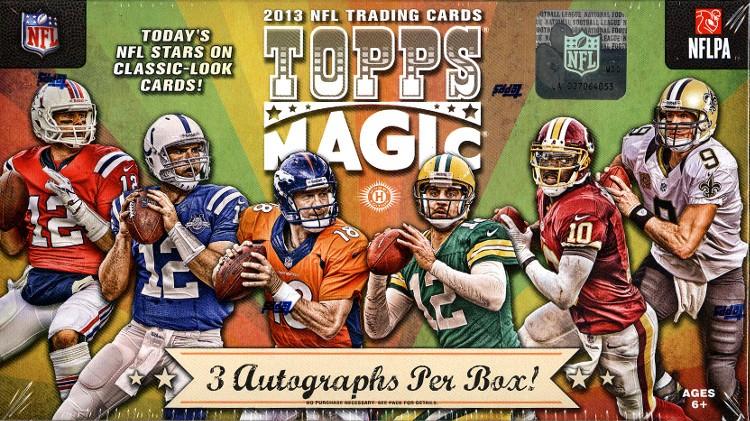Topps Magic 2013 football box