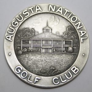 1947 Masters Runner Up Medal