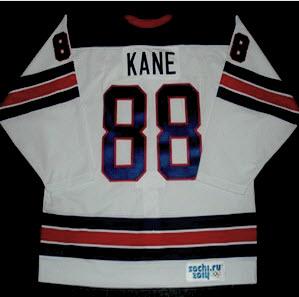 Patrick Kane Olympic jersey