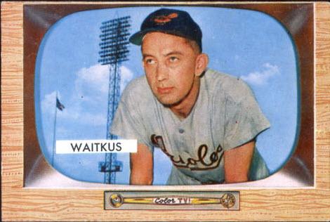 Eddie Waitkus baseball card