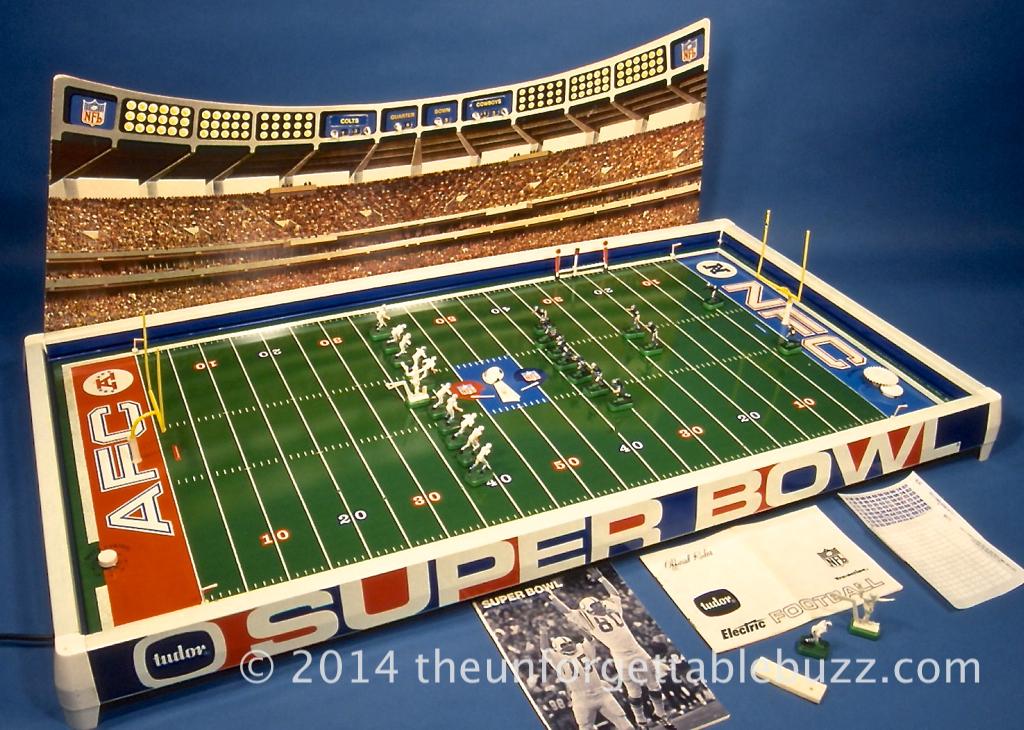 Electric Football Game 1971 Super Bowl V