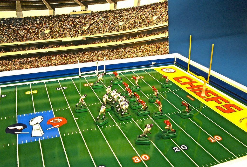 Super Bowl IV Electric Football