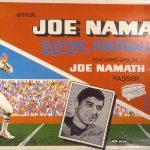 1969 Joe Namath Electric Football game