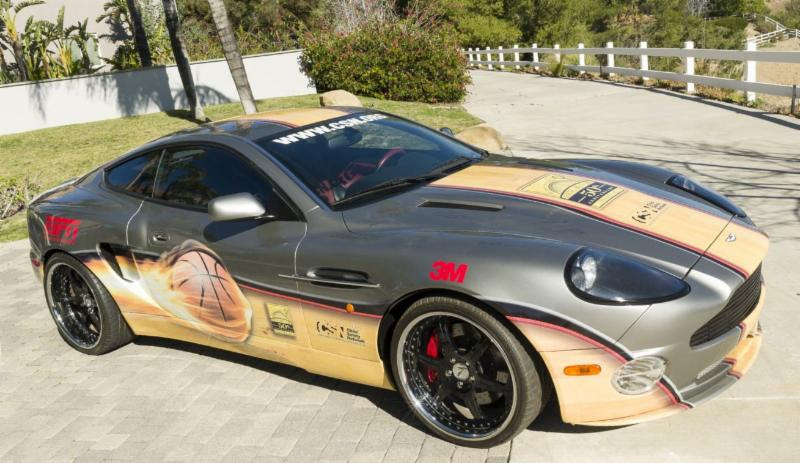 Autographed Aston Martin Vanquish