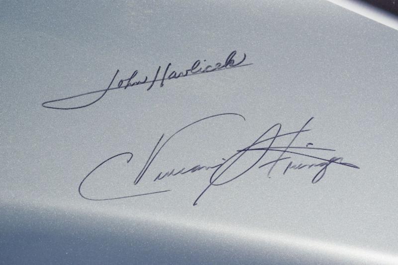 Signed Aston Martin Vanquish