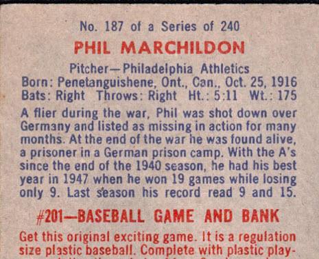 Marchildon back