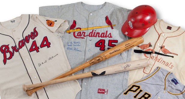 Delbert Mickel baseball memorabilia