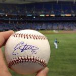Autographed Enny Romero ball