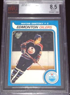 Gretzky Rookie Card 1979-Topps BVG 8.5