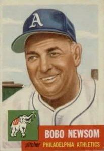 Bobo Newsom 1953 Topps