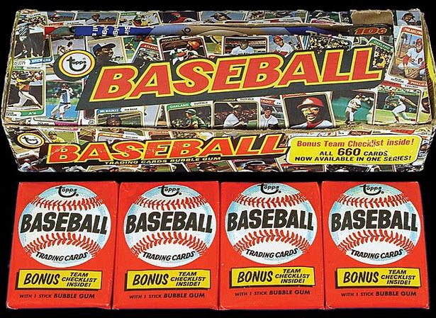 1974 Topps packs