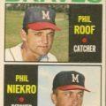 1964 Topps Phil Niekro rookie card