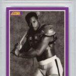 Bo Jackson 1989 Score Supplemental football