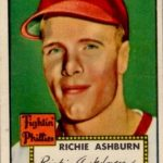 Richie Ashburn 1952 Topps
