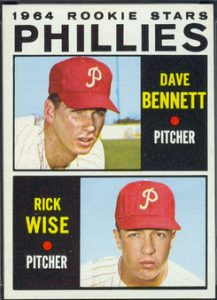 1964 Tops Rick Wise rookie