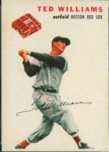 1954 Wilson Franks Ted Williams