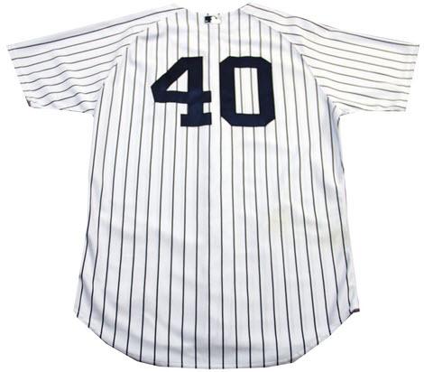Yankees game worn jersey Matt Daley