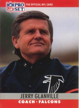 Jerry Glanville as coach of the Atlanta Falcons 1990
