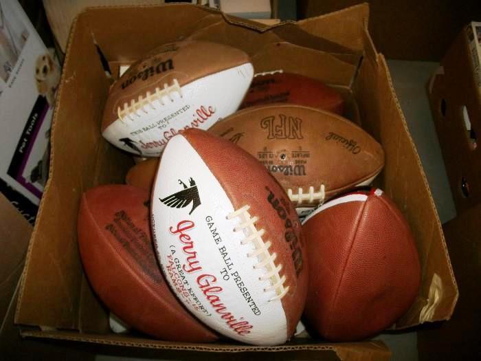 Jerry Glanville Game Balls