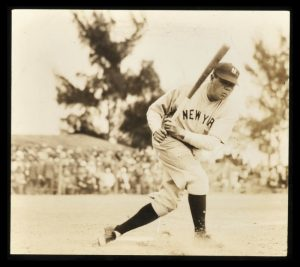 1920s Keystone View photo of Babe Ruth