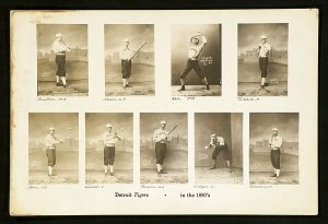 circa 1926 Old Judge Composite of Detroit TIgers players