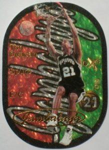 Tim Duncan Jambalaya 1997-98