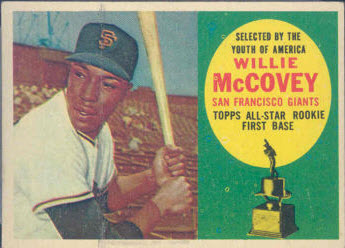 1960 Topps McCovey All Rookie