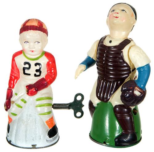 Celluloid windup toys