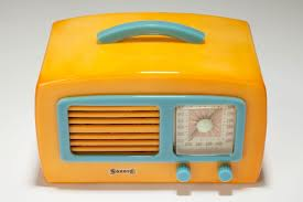 Old time Catalin radios are popularly collected