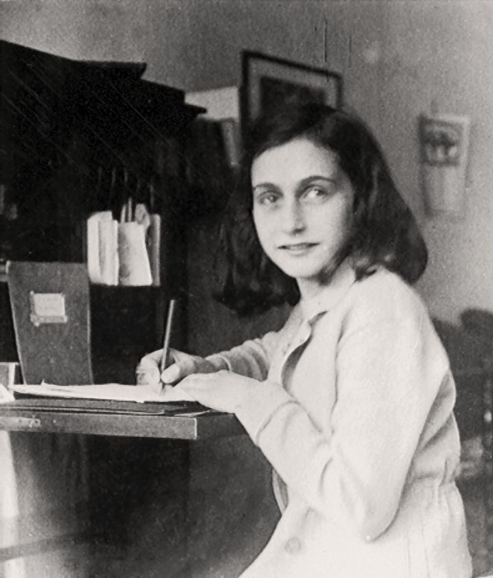 Anne Frank wrote her diary with a Celluloid pen