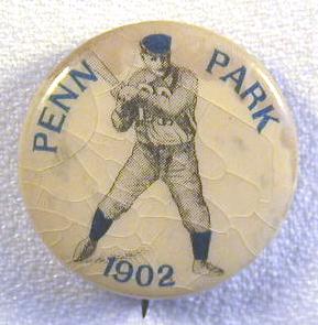 1902 Celluloid baseball pin