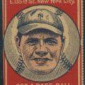 1921 Schapira Bros. Babe Ruth
