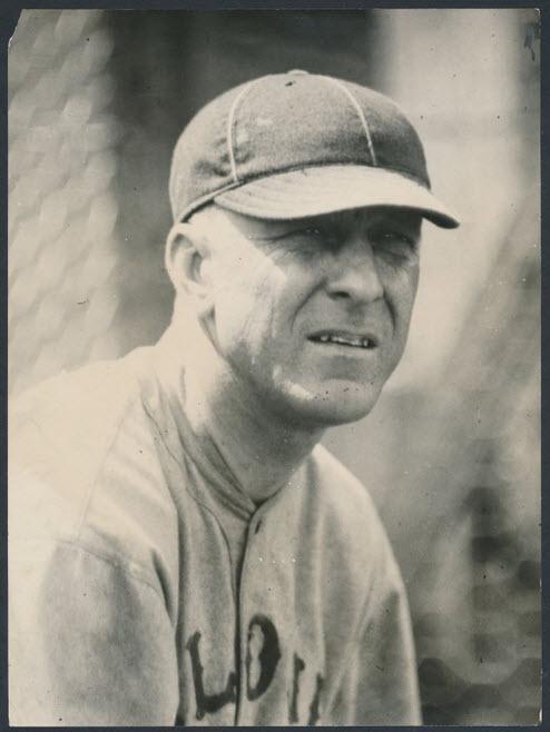 1921 Branch Rickey photograph