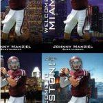 Johnny Manziel Draft Predictor cards 2014
