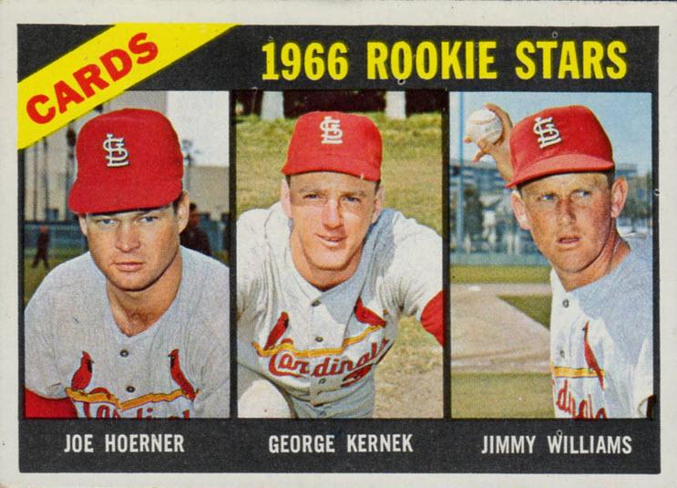 1966 Cardinals rookie stars