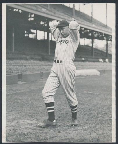 1936 Bob Feller photograph